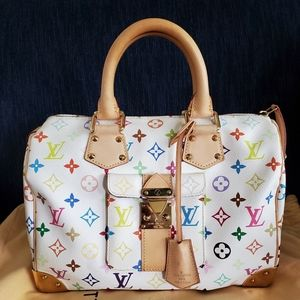 Louis Vuitton Multicolor Speedy 30